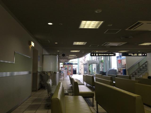 大学病院の待合室