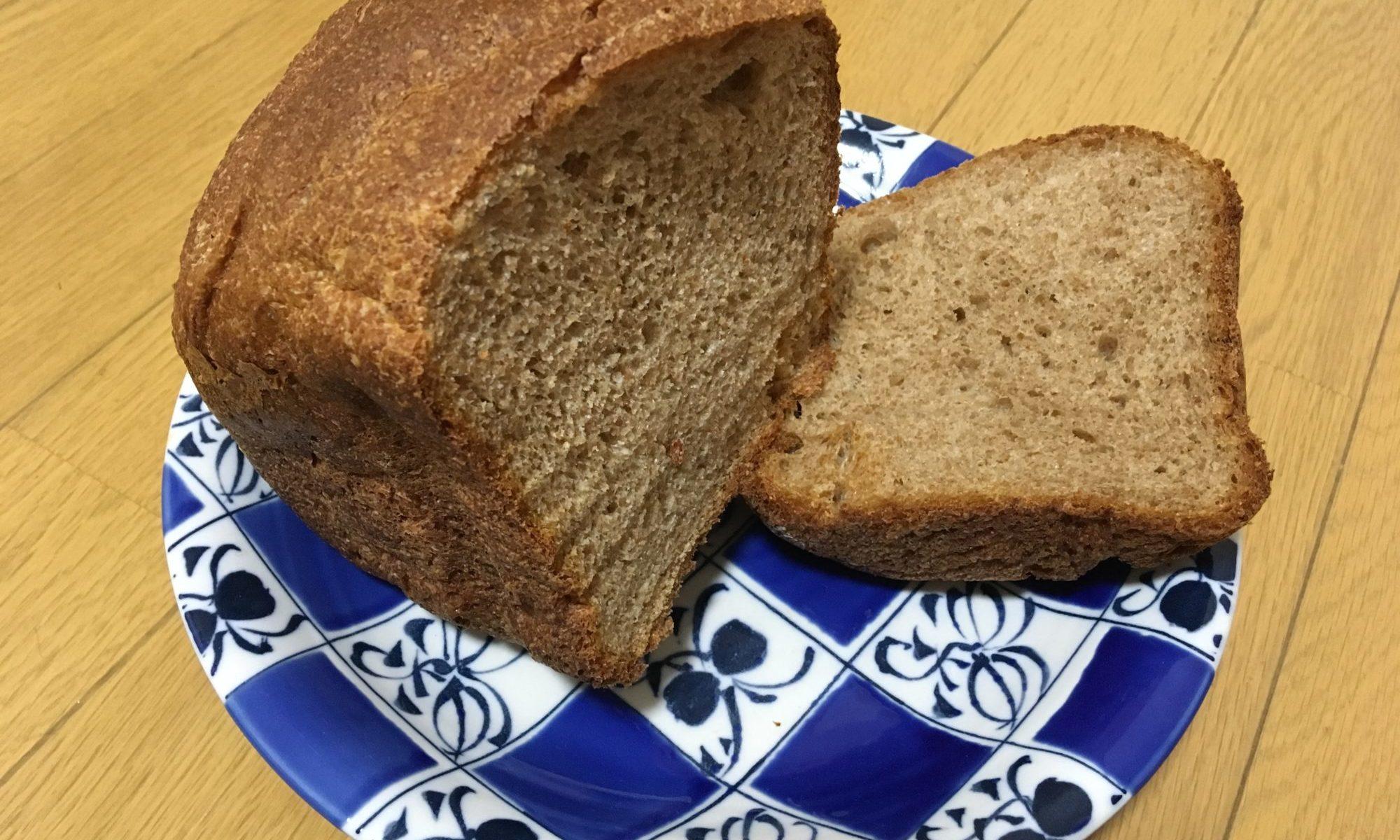 全粒粉100%天然酵母パン