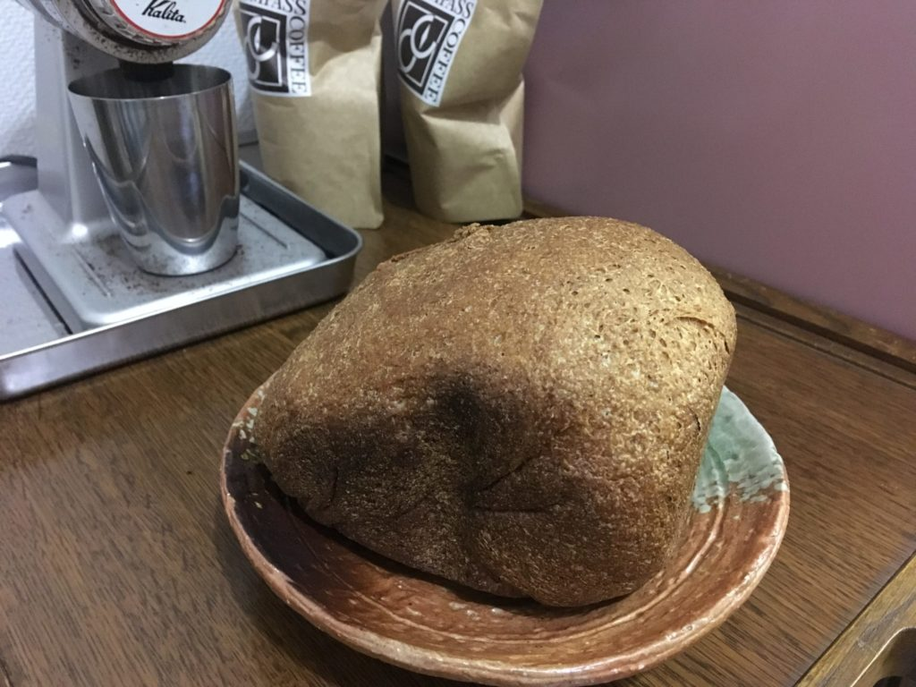天然酵母ドライイーストで作ったパン