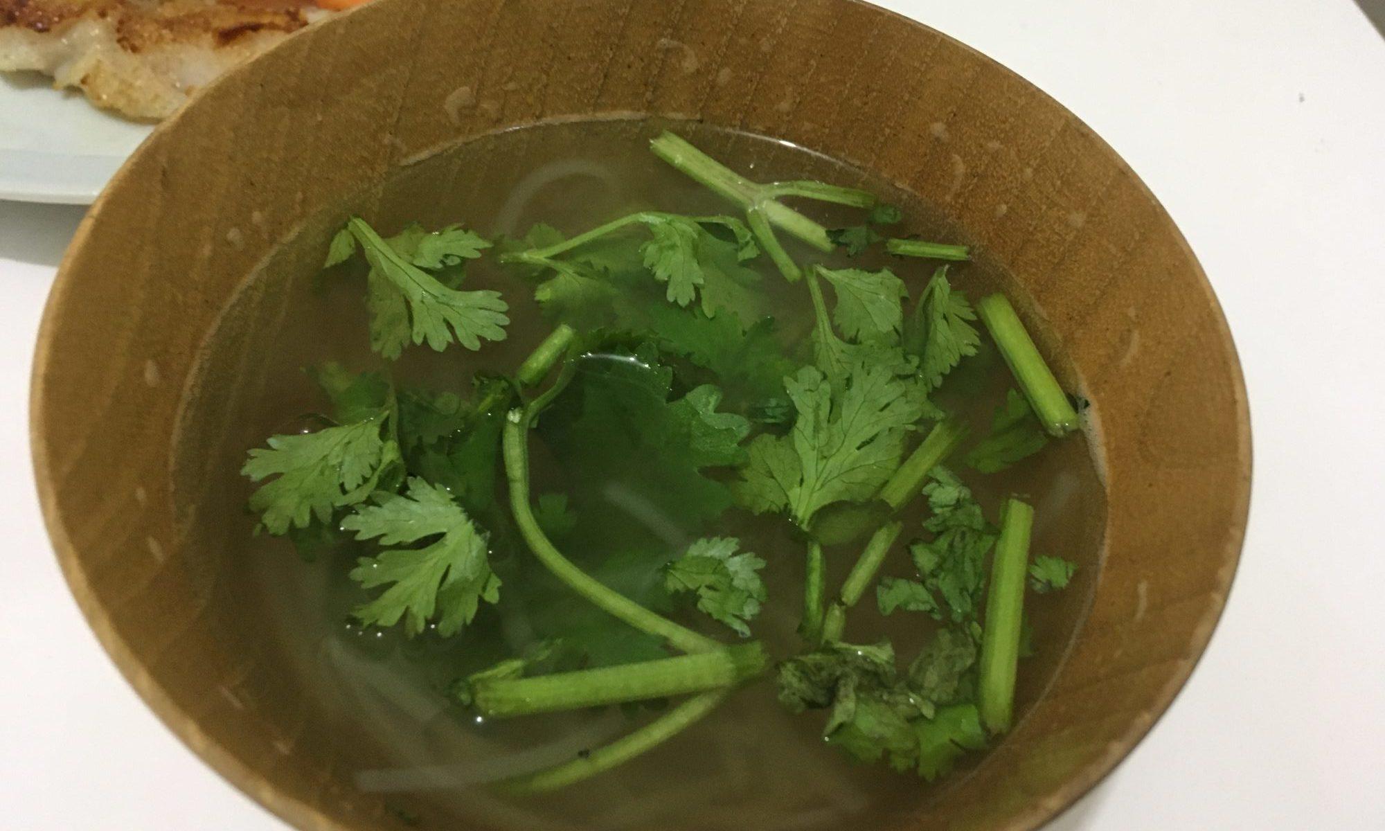 ベトナムのフォー風 春雨スープ
