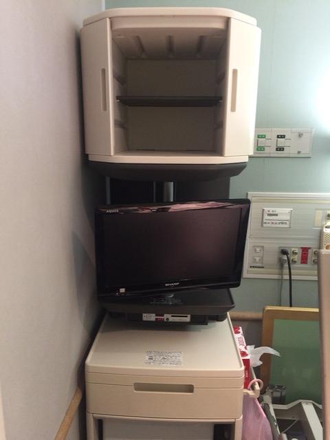 昭和医大の病室収納